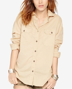 Denim & Supply Ralph Lauren - Surplus Boyfriend Shirt