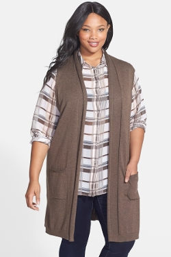 Sejour - Shawl Collar Long Vest