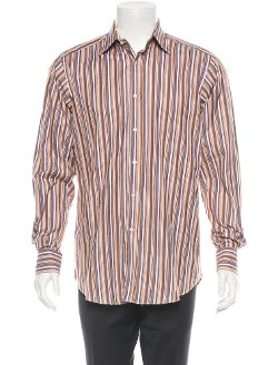 Etro Striped  - Button-Up Shirt