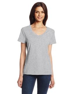 Hanes - Nano-T V-Neck Tee Shirt