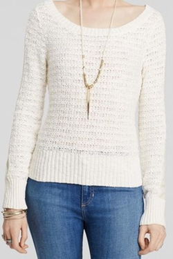 Free People - Bow Back Sweater