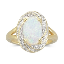 JCPenney - Lab-Created Opal Ring