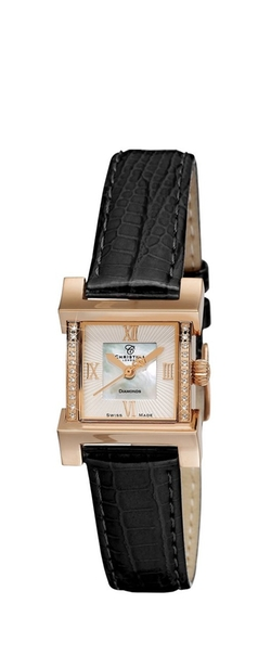 Christina Design London - Mother Of Pearl Dial Wave Quartz Watch
