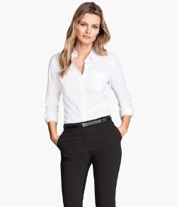 H&M - Stretch Shirt