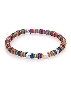 Tateossian  - Multicolor Shell & Sterling Silver Bracelet