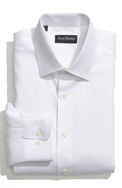 David Donahue - Regular Fit Oxford Dress Shirt