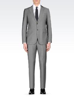 Armani Collezioni - Slim Fit Suit In Virgin Wool
