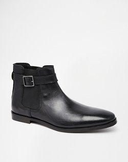 Asos - Chelsea Boots with Buckle
