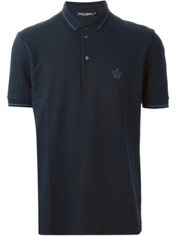 Dolce & Gabbana - Crown Emblem Polo Shirt