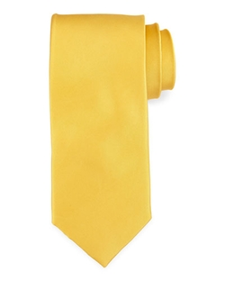 Neiman Marcus  - Solid Satin Tie
