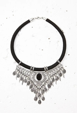 Forever 21 - Etched Statement Necklace
