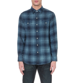 Ralph Lauren  - Regular-fit Checked Cotton Shirt