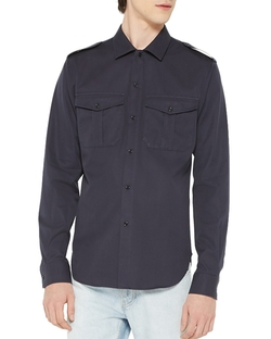 Sandro - Jeep Slim Fit Button Down Shirt