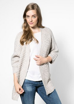 Mango - Metal Thread Cardigan