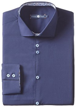 Stone Rose  - Solid Dress Shirt