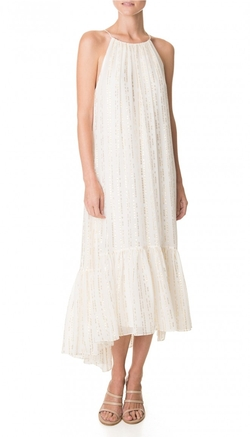 Tibi - Lurex Fil Coupe Chase Dress
