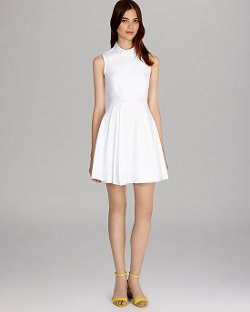 Karen Millen - Short Sleeve Shirt Dress