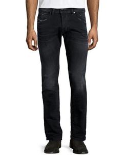 Diesel - Belthar Straight-Leg Jeans