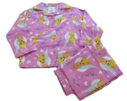 Disney - Tinkerbell Pink Winter Wincyette Pyjamas