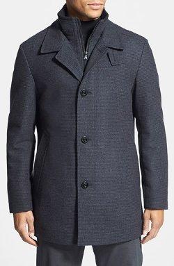Hugo Boss  - Coxtan Wool Blend Overcoat