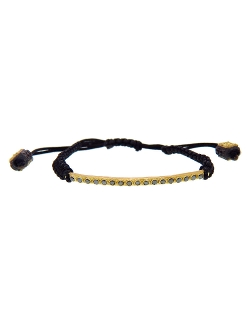 Armenta  - Black Diamond Bar Bracelet