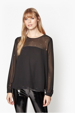 French Connection - Arctic Spell Blouse