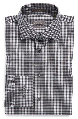 Calibrate - Trim Fit Check Dress Shirt