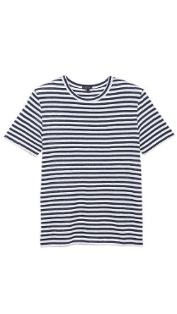 Theory - Andrion Striped T-Shirt