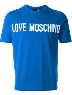 Love Moschino - Logo Print T-Shirt