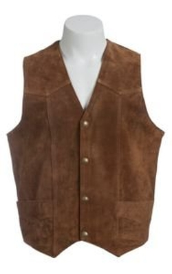 Cripple Creek - Suede Leather Western Vest