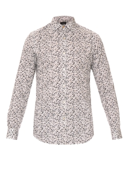 Paul Smith London - Floral-Print Button Cuff Cotton Shirt