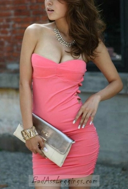 Bonanza - Bodycon Tube Short Dress