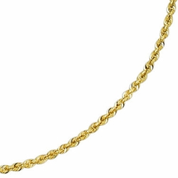 JCPenny - Glitter Rope Chain Necklace