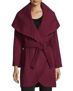 T Tahari  - Marla Wrap Coat