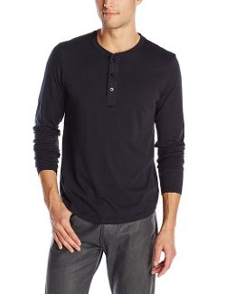 Alternative  - Organic Pima Henley Long-Sleeve Shirt