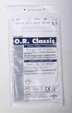 O. R. Classic  - Sterile Powdered Latex Surgical Gloves