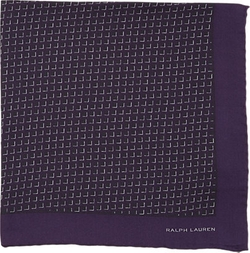 Ralph Lauren Black Label  - Graphic Pocket Square