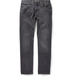 Canali  -  Washed-Denim Jeans