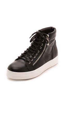 Studio Pollini  - Zip Sneakers