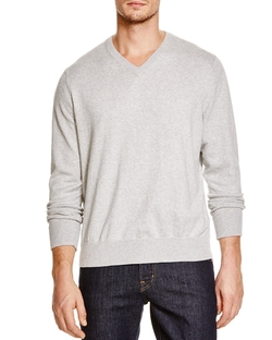 Tailorbyrd - Long Sleeve V-Neck Sweater