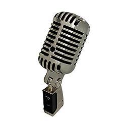 RSQ  - RM200 Retro Style Microphone Square