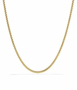 David Yurman  - Small Box Chain Necklace
