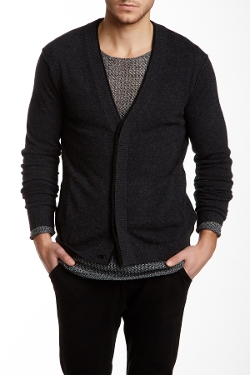 Quinn  - Ed Double Layered Cashmere Cardigan