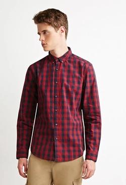 21Men - Checked Plaid Shirt