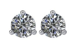 Central Diamond Center - Diamond Cocktail Style Stud Earrings