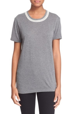 The Kooples - Embellished Jersey Top