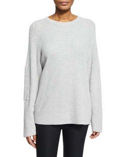 The Row - Long-Sleeve Ribbed Sweater