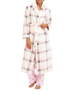 Nautica - Plaid Plush Robe