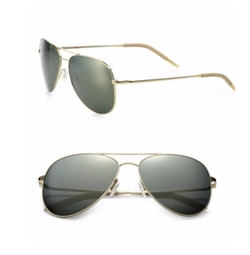 Oliver Peoples - Kannon Double-Bridge Aviator Sunglasses
