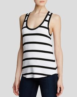 Dylan - Striped Dressy Tank Top